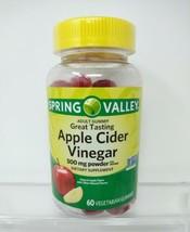 Spring Valley Apple Cider Vinegar 500mg Vegetarian Gummies 60ct    - $23.47