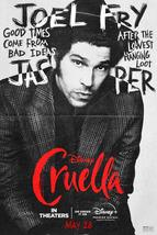 Cruella Poster Disney Film 2021 Emma Stone Emma Thompson Character Art Print #11 - £7.89 GBP+