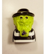 Ronald McDonald Hamburglar #6 Candy Dispenser Green Mask Black Spider Ch... - $3.99