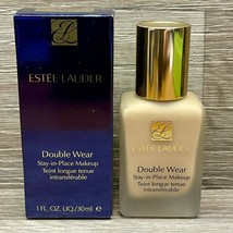 Estee Lauder Double Wear Stay In Place Makeup 2W1 Dawn 1 Oz Nib Full Size - $28.45