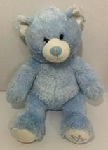 BUILD-A-BEAR teddy Blue white Snowflake Plush Winter Holiday Christmas s... - $9.89