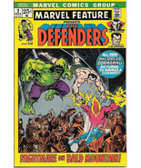 Marvel Feature Comic Book #2 The Defenders Marvel Comics 1972 VERY FINE - $135.37