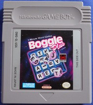Boggle Plus Original Game Boy Cartridge Nintendo GBA GB GBC Advance SP - $12.99