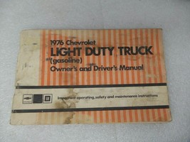 Chevy Pickup TCHEV30   1976 Owners Manual 17379 - $17.77