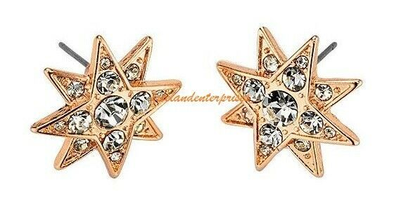 Earring Celestial Spirits Stud Earrings ~ Goldtone ~ Pierced NEW in Box ~