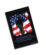 September 11, 2001 Law Enforcement Remembrance New York Poster - 2 Sizes - $10.84+
