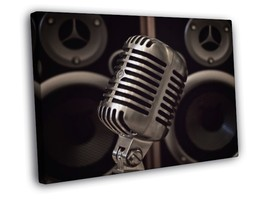 Vintage Studio Microphone Speakers Record Music... - $19.95 - $39.95