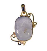 bonnie Rutile Quartz Gold Plated Multi Pendant Fashion jewelry US - $5.93