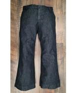 Vtg 2008 GAP Women's Dark Wash Ankle Crop Short Leg Denim Blue Jeans Siz... - £9.44 GBP
