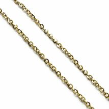 18K YELLOW GOLD NAME NECKLACE, BEATRICE, AVAILABLE ANY NAME, ROLO CHAIN image 4