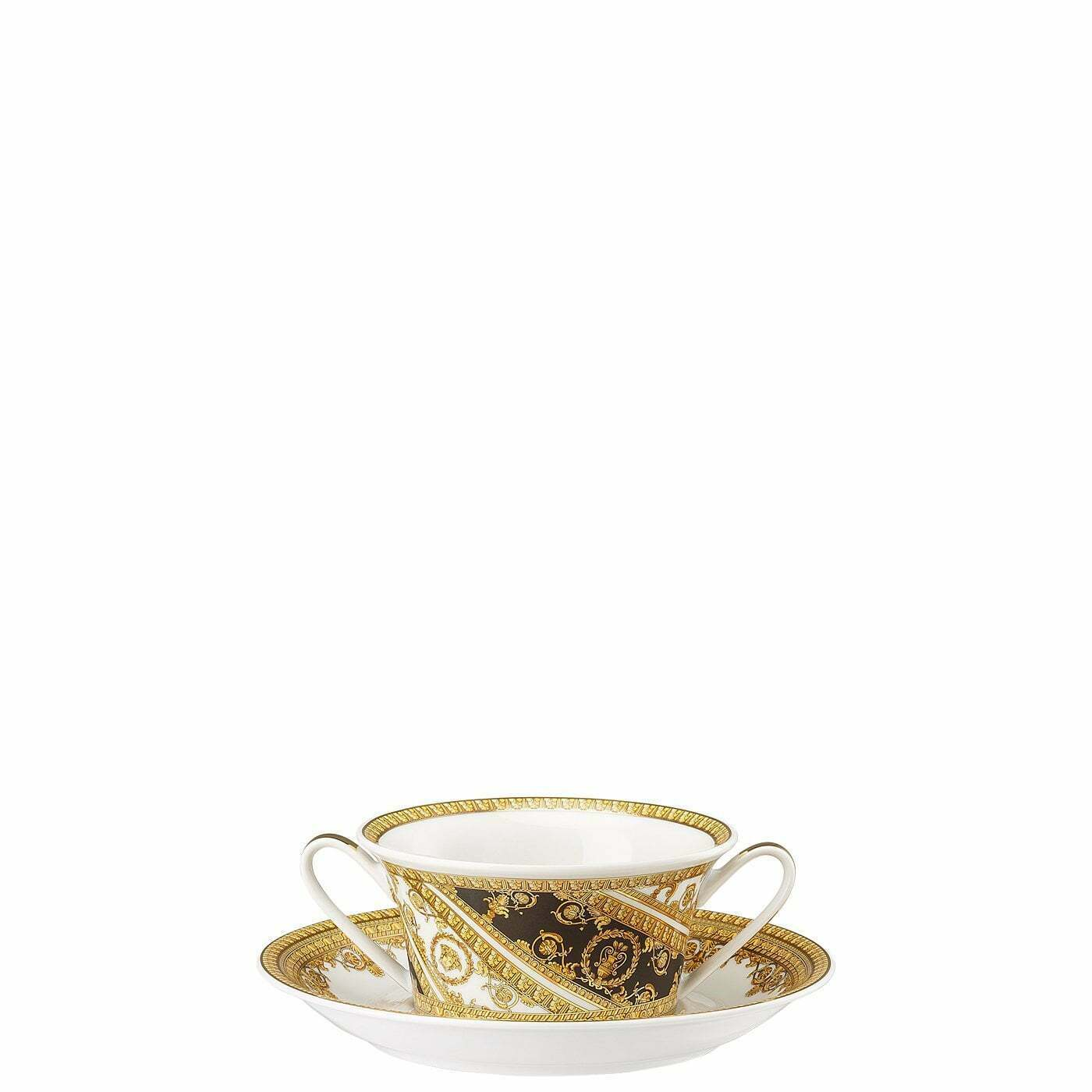 Primary image for Versace by Rosenthal I Love Baroque Creamsoup Cup and saucer