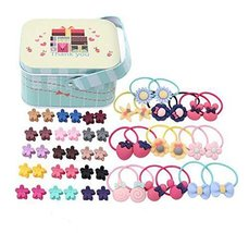 Random of Children Hairpins Lovely Hair Band and Hairpin Suit, Hair Circle Suit