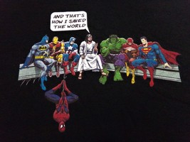 Superheroes, Jesus Christ Saved The World, XL Men's T-Shirt - $11.95