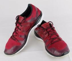 Asics Gel Passform Vida Damen Schuhe Rot Laufen Training Sneakers Schnürsenkel image 2