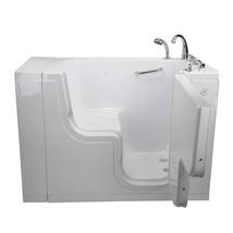 "SoakingHeated Seat Walk-In Bathtub,Right Outward Swing Door, 2"" Dual Drain - $4,548.06"