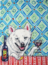 animal Art oil painting printed on canvas home decor dog art poster gift - $14.99+