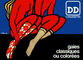 DD Chaussettes gaies classiques ou coloå_es Poster.Home wall design.3056 - $11.30+