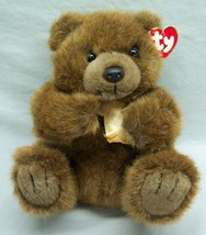 "TY MAGEE THE SOFT BROWN TEDDY BEAR 8"" Plush STUFFED ANIMAL Toy 1998 - $18.32"