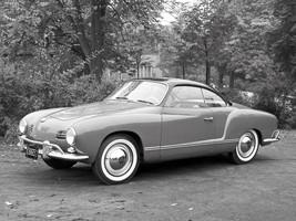 1955 Volkswagen Karmann Ghia retro vw POSTER | 24 x 36 INCH | muscle car |  - $18.99