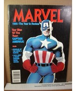 Marvel Magazine 1990 The Year in Review Captain America - $8.99