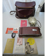 Polaroid LAND CAMERA Model 95A VINTAGE Comes With Case + Accessories - $170.00