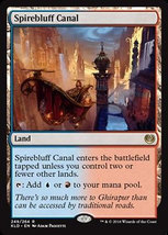 "Magic the Gathering MTG ""Spirebluff Canal"" Land Card x2 * NM - $14.88"