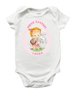 My First Easter Shirt, My First Easter Onesie, Personalized First Easter... - $11.99