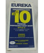 Eureka Vacuum Style U Upright Vacuum Cleaner Bags 10 Total Part # 54311 ... - $14.82