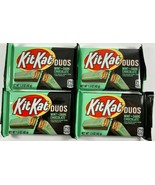 NEW 4-Pack Mint Kit Kat Duos Crisp Wafers in Dark Chocolate Candy Bar  1... - $14.84