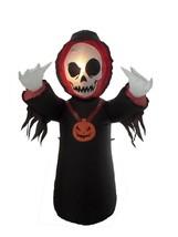 4 Foot Halloween Inflatable Grim Reaper 2013 Yard Decoration - £29.48 GBP