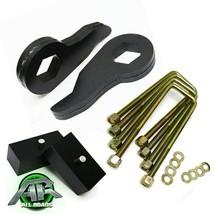 """Full 1-3"""" Adj Steel Front + 2"""" Rear Blocks Lift Kit For 1988-1999 Chevy ... - $140.62"""