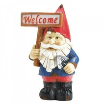 Welcome Gnome Solar Statue - $26.79
