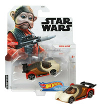 Hot Wheels Star Wars Nien Numb Character Cars First Appearance! Mint on Card - $12.88