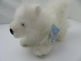 Ganz Webkinz White Dog Samoyed Plush Stuffed Toy New - $19.79