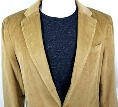 Steve & Barry's Sport Coat Size XL American Classic 2 Roll 1 Button Tan ... - $34.02