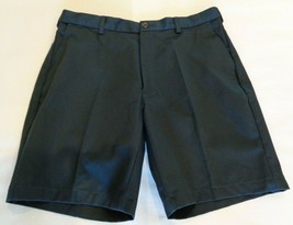 Roundtree & Yorke Size 38 Tall EXPANDER WAIST Navy Flat Front New Mens S... - $33.18
