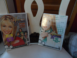 lot of 2 Hannah Montana DVDs Pop Star Profile & Livin the Rock Star Life image 1