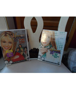 lot of 2 Hannah Montana DVDs Pop Star Profile & Livin the Rock Star Life - $10.00