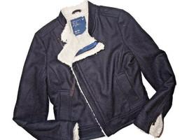 AMERICAN EAGLE Winter Jacket COAT Black Bomber XS X SMALL - $40.35