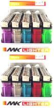 100 Disposable Cigarette Lighters Wholesale Bulk Lot Lighter Classic Ful... - $19.89