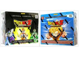 DRAGON BALL Z Evolution + Heroes & Villians Booster Boxes DBZ Trading Ca... - $49.99