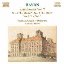 Symphonies 7 [Audio CD] HAYDN image 2