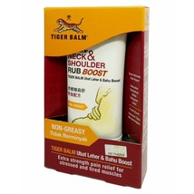 3 x 50g (1.75oz) TIGER BALM Neck & Shoulder Rub Boost Relief Stiff Muscl... - $32.18