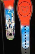 Disney Cinderella Castle Magic Band RED Tink Magicband WDW Tinkerbell NIP - $38.51