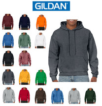 Mens GILDAN Pullover Hoodies Sweatshirt 18500 - Heavy Blend - $19.88