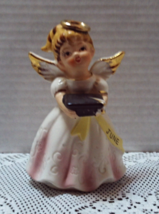Vintage June Graduation Angel Figurine Made In Japan - $13.00