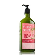 Bath and Body Works Aromatherapy Stress Relief Sandlewood Rose Body Lotion  - $74.24