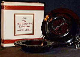 """Cape Cod Ruby Red AA20-90CC10  7 ⅜"""" Soup Bowl"""