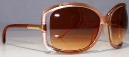 Tom Ford ANAIS Gold / Brown Gradient Sunglasses TF125 74F 125 64mm - $195.02
