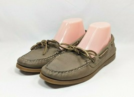 Sperry Top-Sider Boat Shoes Women's Sz 9.5 Tan Leather Uppers (sb19ep) - $29.99